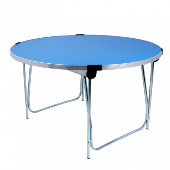 GOPAK Round Folding Table - 4ft Laminate...