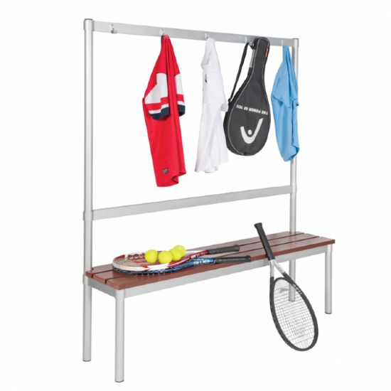 GOPAK Enviro Changing Room Benches (5 coloured hooks)