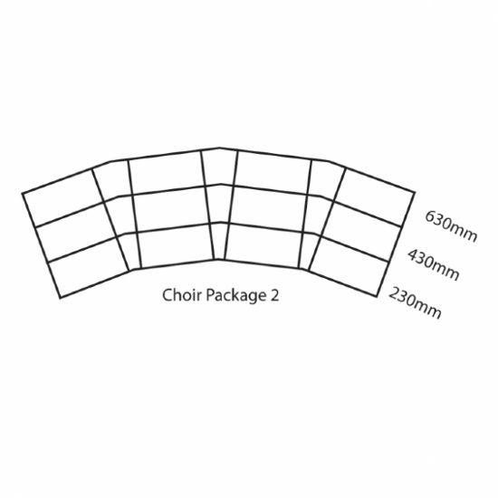 GOPAK Ultralight Choir Stage Pack 2